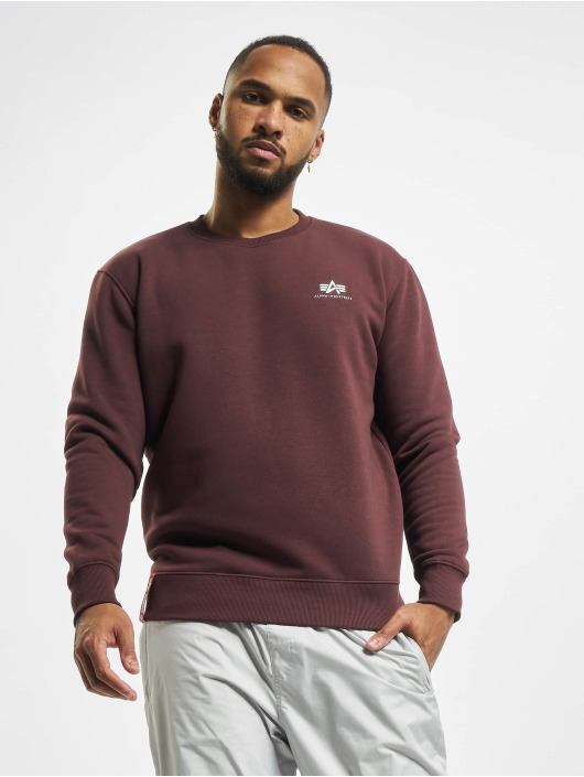 Alpha Industries Pullover Small Logo Basic red