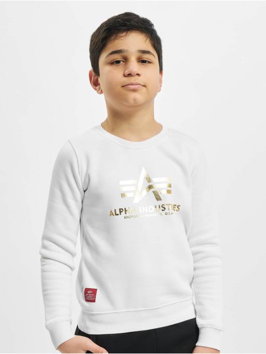 Alpha Industries Pullover Basic white