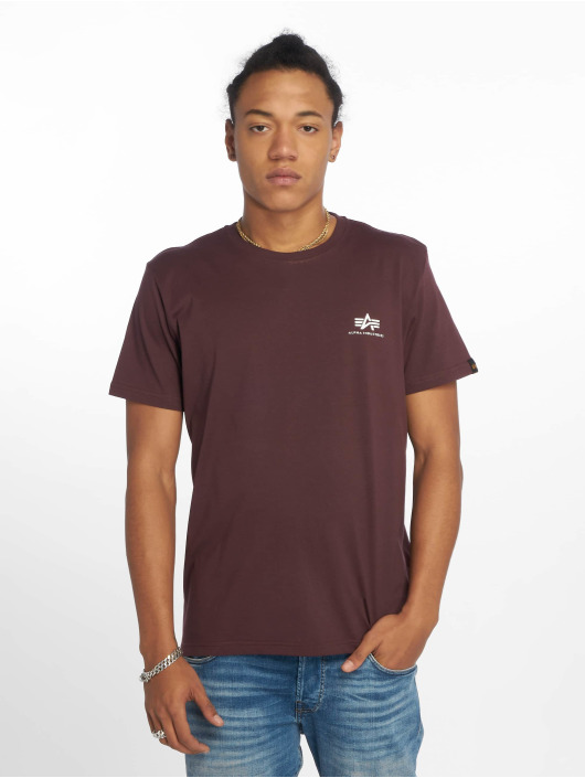 Alpha Industries T-Shirt Basic Small red