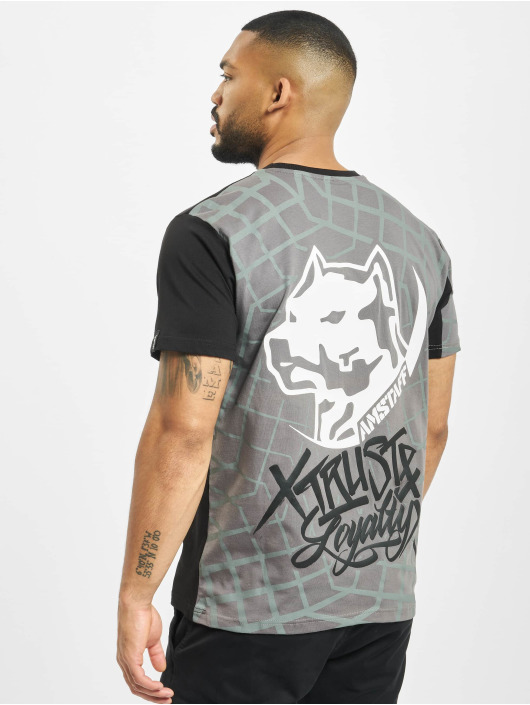 Amstaff T-Shirt Klixx gray