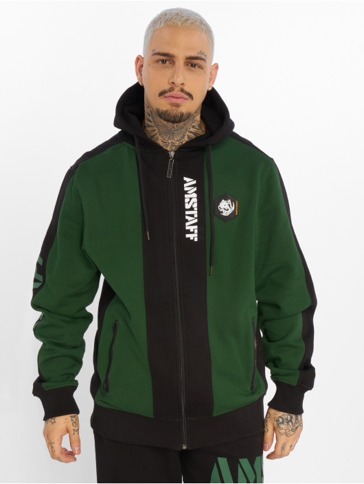Amstaff Zip Hoodie 88690 green
