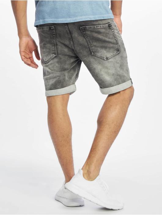 Authentic Style Short Sweat Denim Optic gray