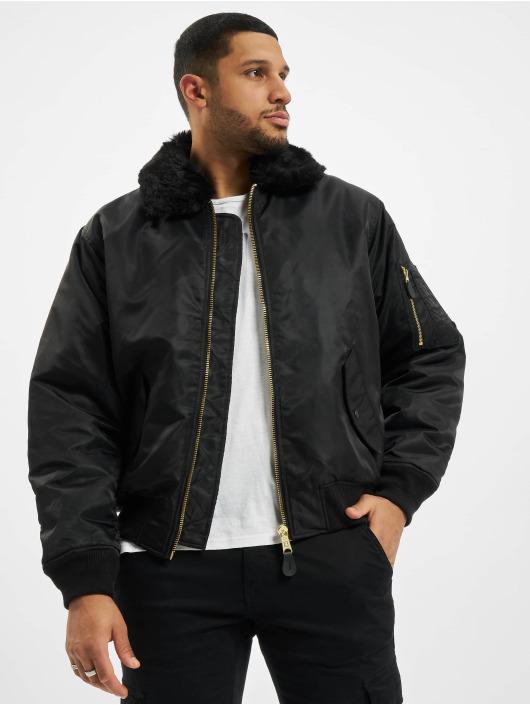 Brandit Bomber jacket Ma2 Fur black
