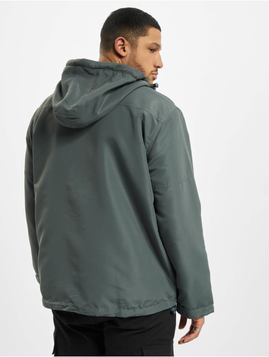 Brandit Lightweight Jacket Frontzip gray
