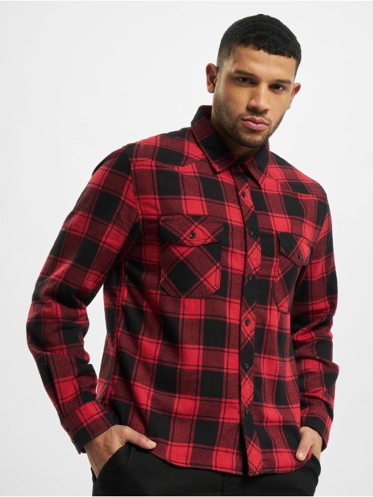 Brandit Shirt Check red