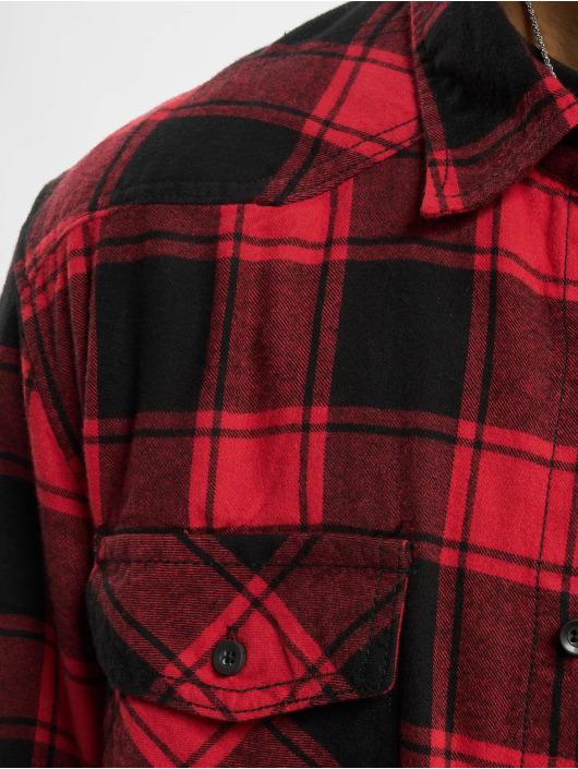 Brandit Shirt Check red