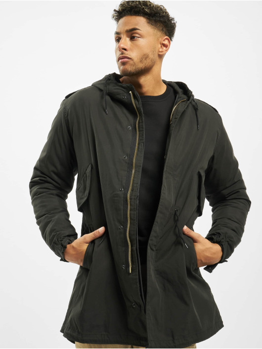 Brandit Winter Jacket M51 US black