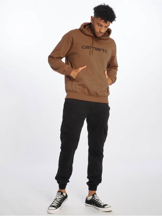 Carhartt WIP Hoodie Label brown