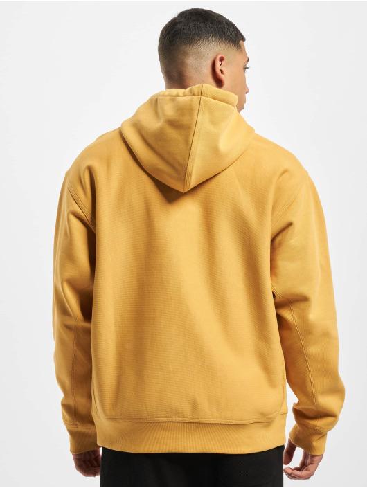 Carhartt WIP Hoodie American Script yellow
