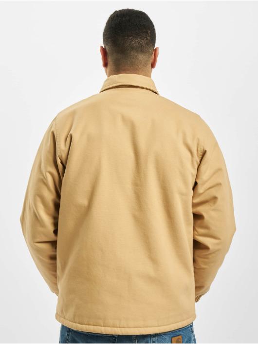 Carhartt WIP Lightweight Jacket Canvas Coach brown