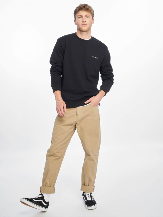 Carhartt WIP Pullover Script Embroidery black
