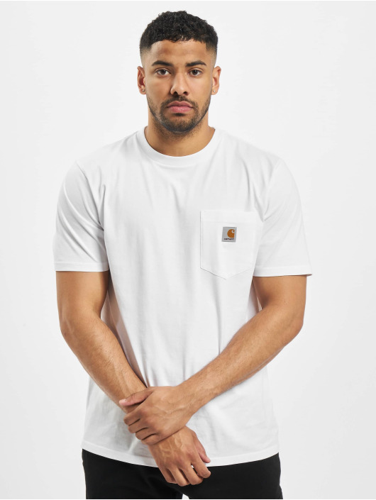 Carhartt WIP T-Shirt SS Pocket white