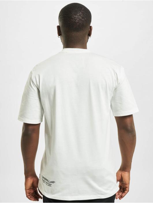 Caterpillar T-Shirt Vintage Workwear beige