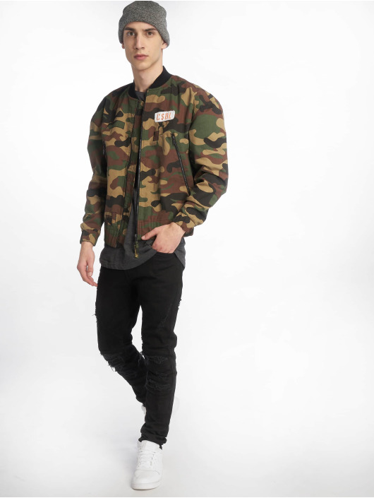 Cayler & Sons Lightweight Jacket CSBL Patched Loose Flight camouflage
