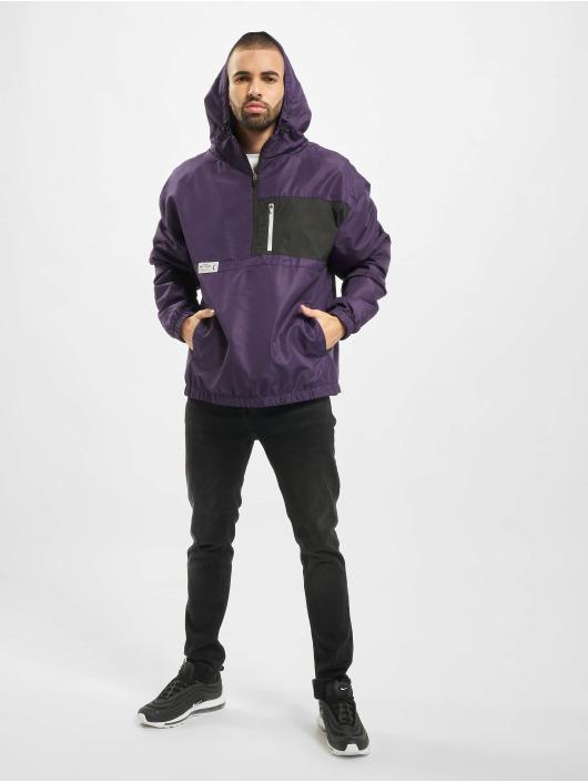 Cayler & Sons Lightweight Jacket Form Half Zip purple