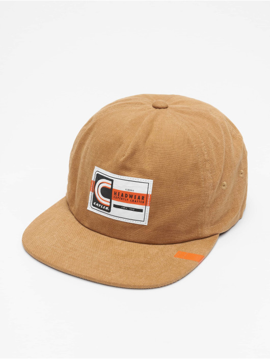 Cayler & Sons Snapback Cap CL Builders Choice beige