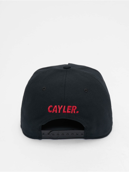 Cayler & Sons Snapback Cap WI Seriously black