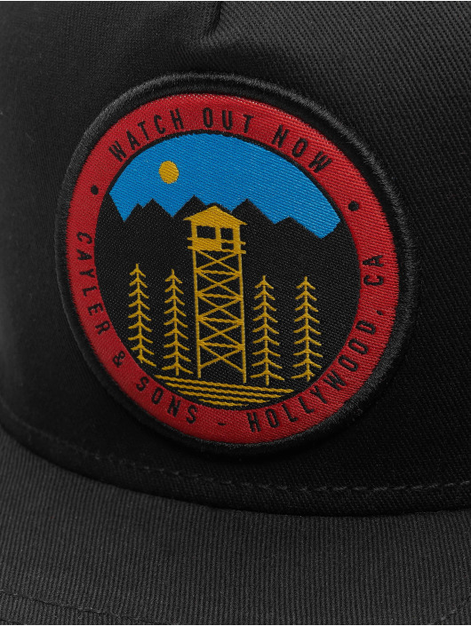 Cayler & Sons Snapback Cap CL Watch Out black