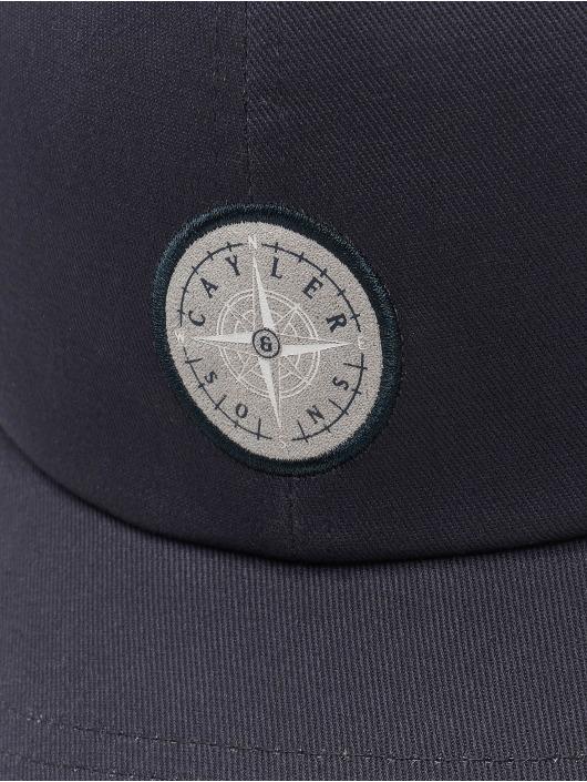 Cayler & Sons Snapback Cap CL Navigating Curved blue