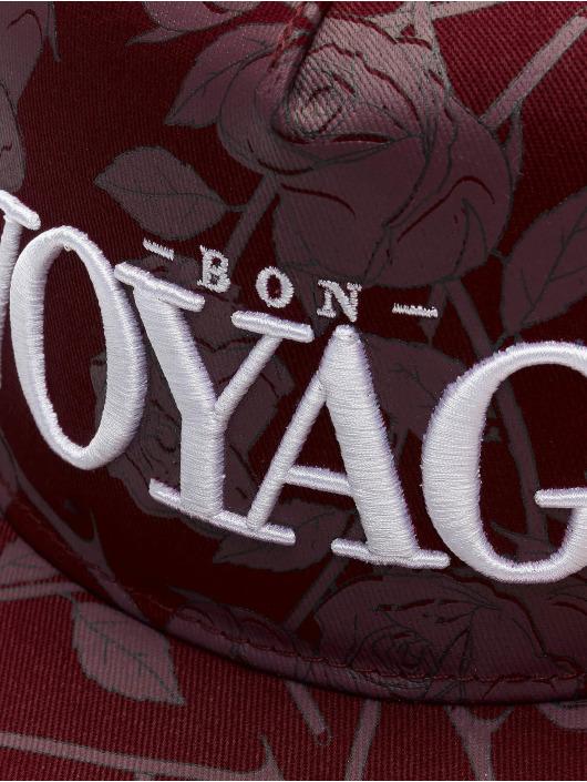 Cayler & Sons Snapback Cap WL Bon Voyage Roses red