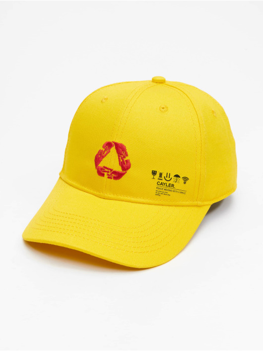 Cayler & Sons Snapback Cap Iconic Peace Curved Cap yellow
