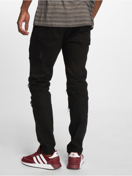 Cayler & Sons Straight Fit Jeans Alldd Paneled Inverted black