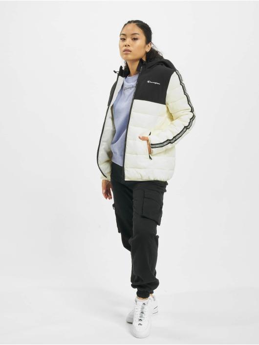 Champion Puffer Jacket Legacy white