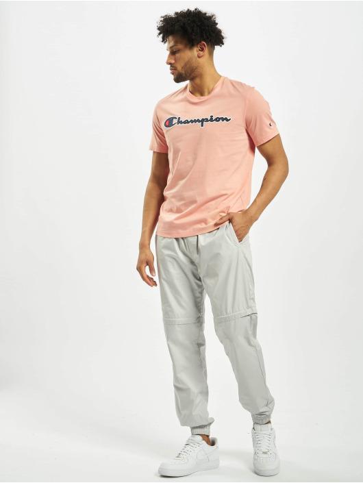 Champion T-Shirt Satin Logo rose