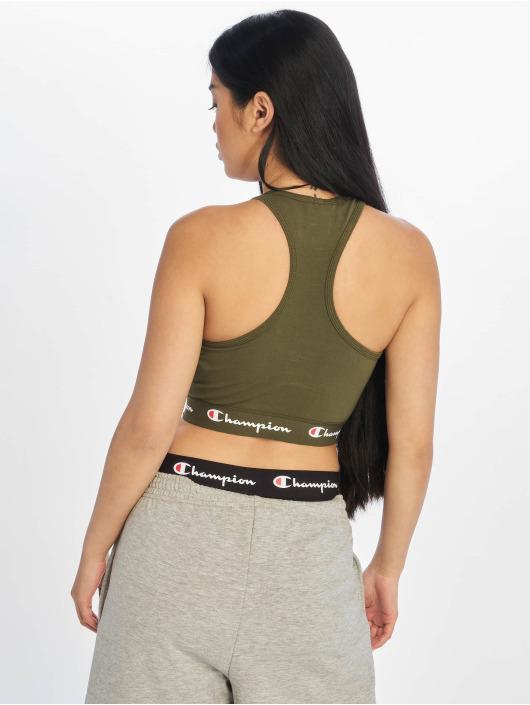 Champion Underwear Labels olive