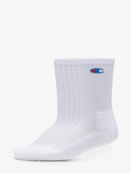 Champion Underwear Socks Y08qg X6 Crew 6-Pack white