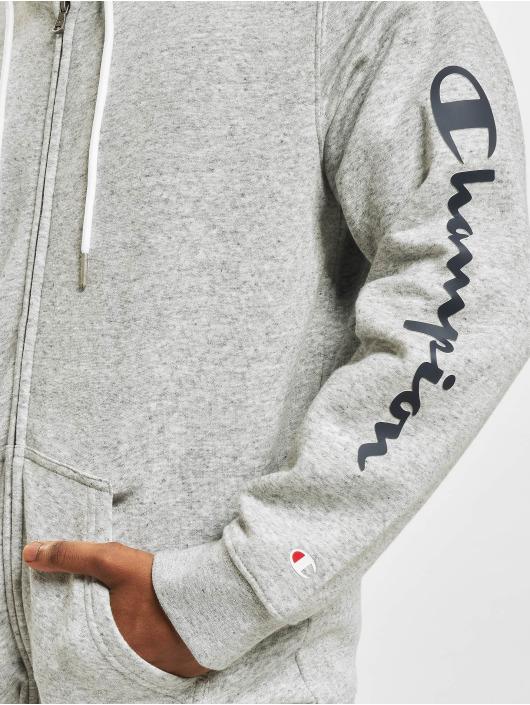 Champion Zip Hoodie Legacy Zip gray