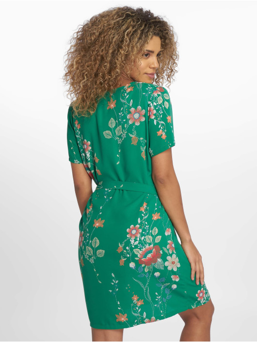 Charming Girl Dress Depose green