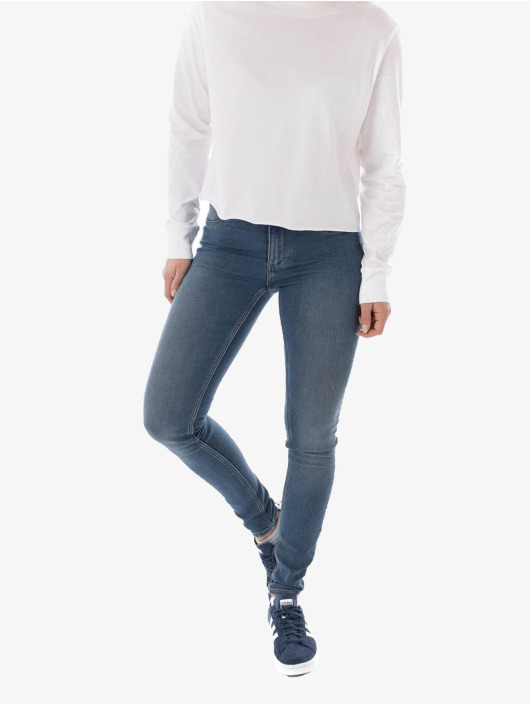 Cheap Monday Skinny Jeans Mid Spray blue