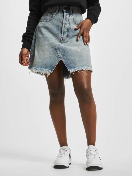 Cheap Monday Skirt Shrunken Hex blue