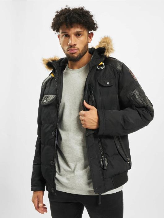 Cipo & Baxx Winter Jacket Vintage black