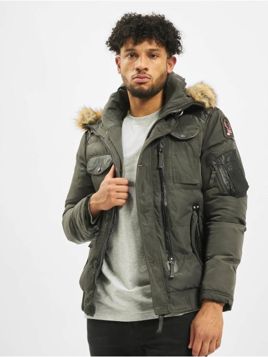 Cipo & Baxx Winter Jacket Bomber khaki