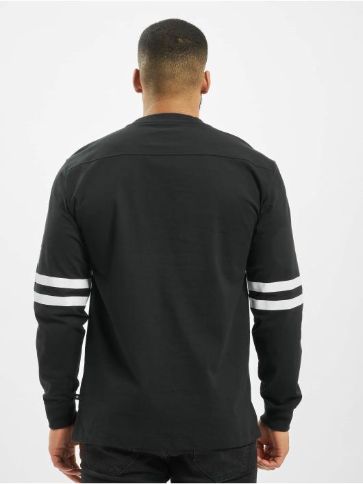Converse Longsleeve Twisted Varsity Cut & Sew black
