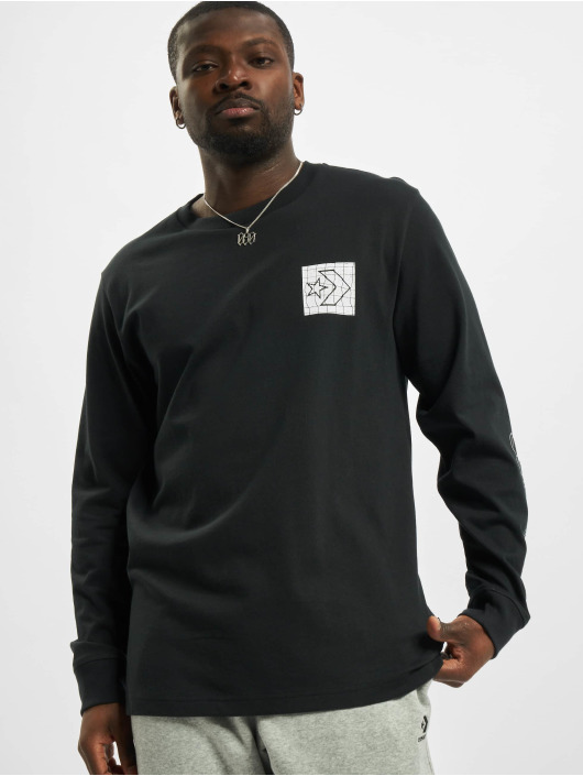 Converse Longsleeve Distorted Court black