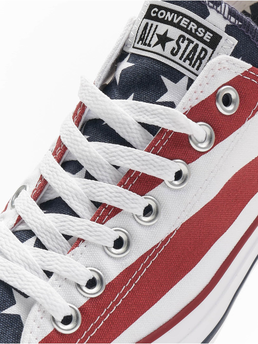 Converse Sneakers All Star Stars & Bars Ox colored