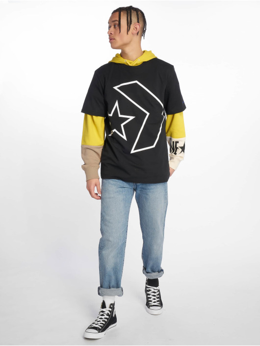 Converse T-Shirt Tilted Star Chevron black