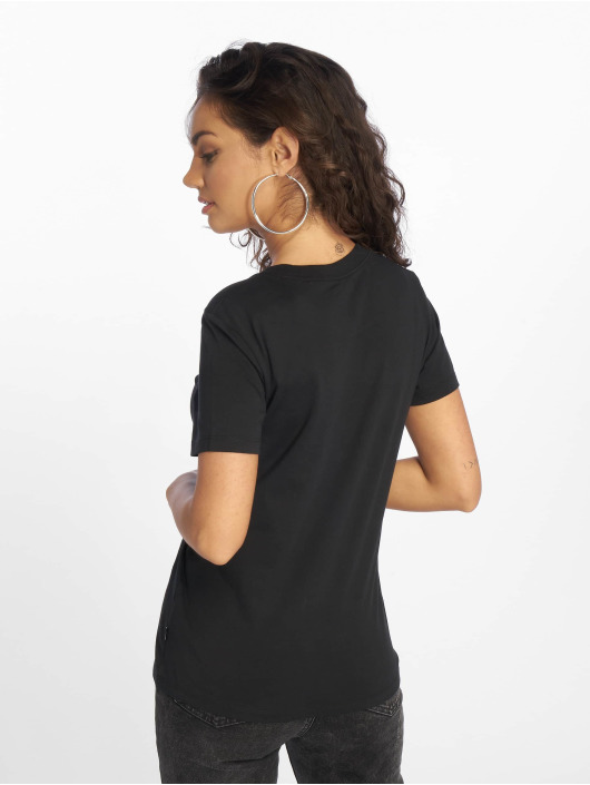 Converse T-Shirt In Bloom black