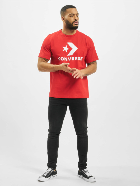 Converse T-Shirt Chevron red
