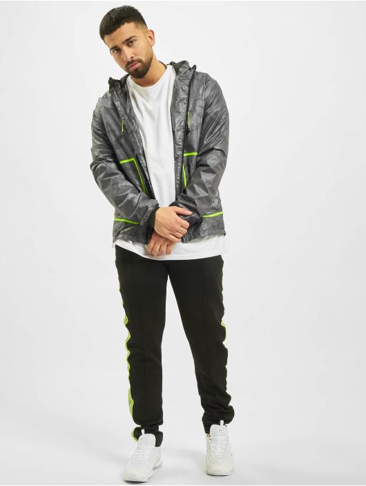Criminal Damage Lightweight Jacket Reflective gray