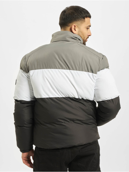 Criminal Damage Puffer Jacket Lyon black