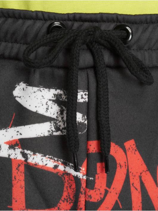 Criminal Damage Sweat Pant Graffiti black