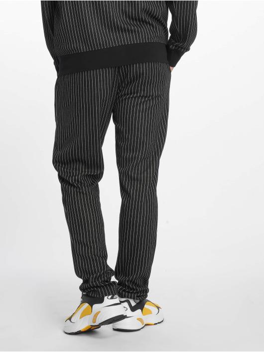 Criminal Damage Sweat Pant Pinstripe black