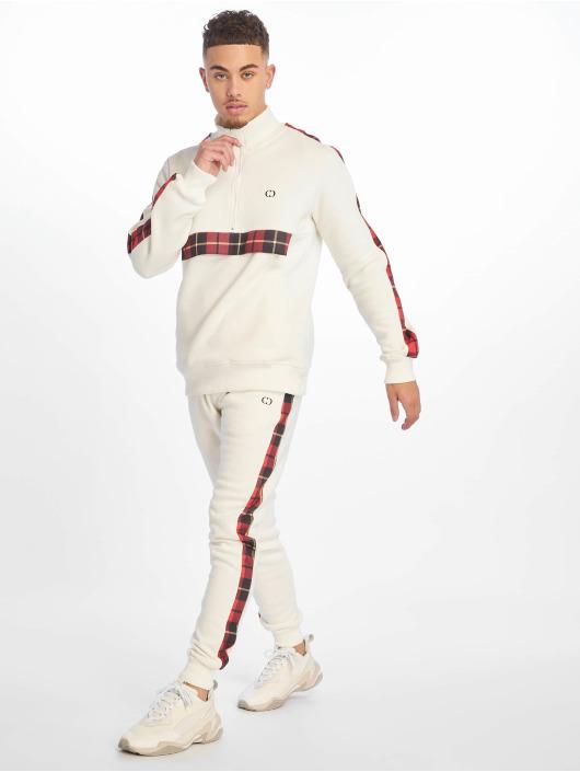 Criminal Damage Sweat Pant Check white