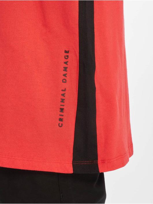 Criminal Damage T-Shirt Carnaby red
