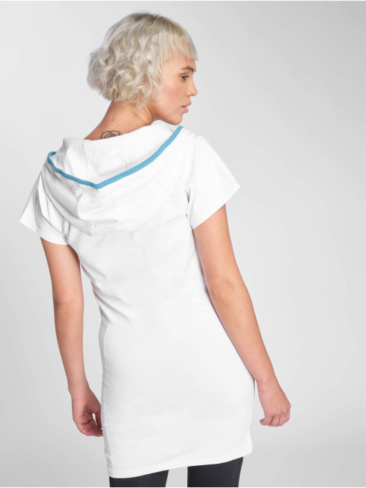Dangerous DNGRS Dress Collos white