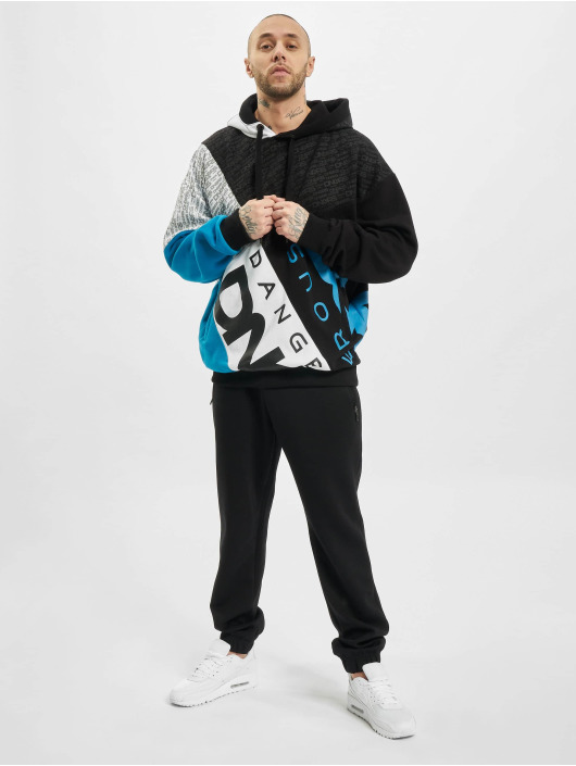 Dangerous DNGRS Hoodie Crossed Block black